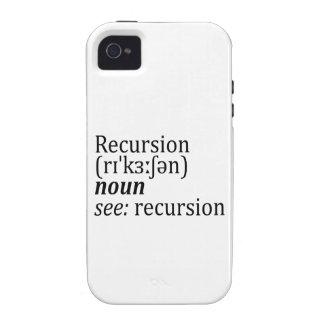 Recursion iPhone 4/4S Cover