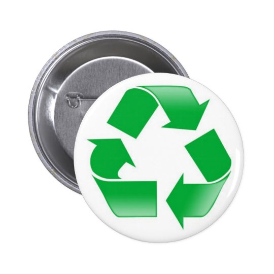 Recycle 2 Inch Round Button