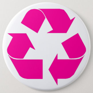 recycle 6 inch round button