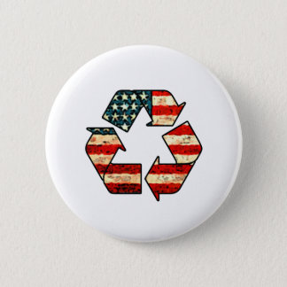 Recycle America Button