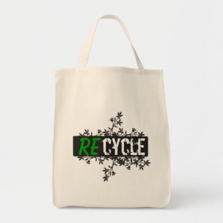 REcycle bag! GREENLIFE Tote Bag