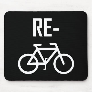 Recycle Bicycle Bike Mouse Pad