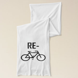 Recycle Bicycle Bike Scarf
