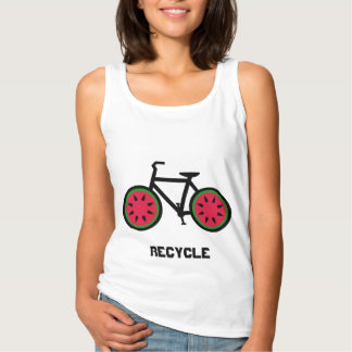 Recycle bycycle tank top
