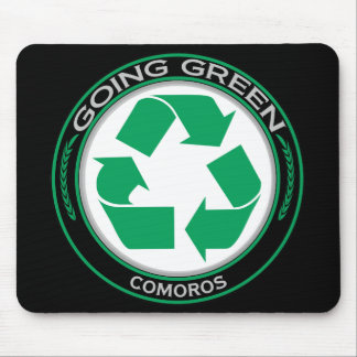 Recycle Comoros Mouse Pad