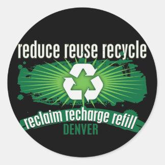 Recycle Denver Sticker