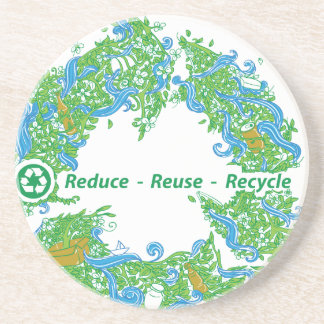 Recycle Drink Coasters