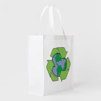 Recycle Earth Grocery Bag