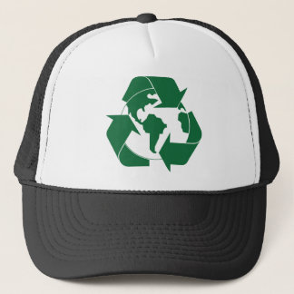 Recycle Earth Trucker Hat