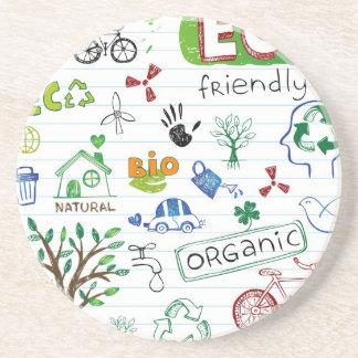Recycle Eco Friendly Beverage Coasters