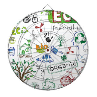 Recycle Eco Friendly Dart Boards