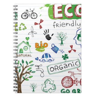 Recycle Eco Friendly Notebook