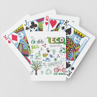 Recycle Eco Friendly Bicycle Poker Cards