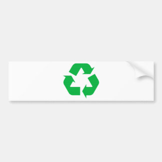 Recycle Ecology Products & Designs! Bumper Stickers