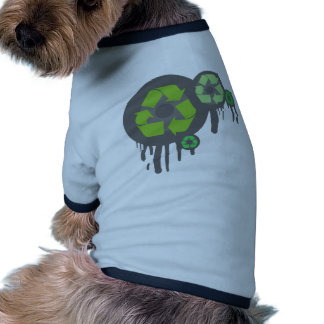 Recycle exclusive products! doggie tee
