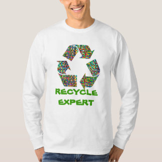 RECYCLE EXPERT : Mens' Full Sleeves T-Shirt