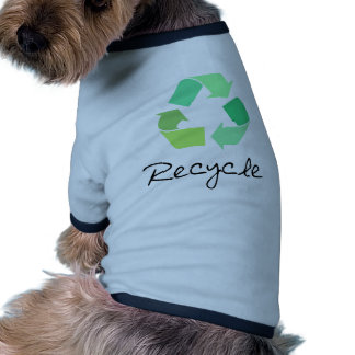 Recycle! Green designs for Ecology! Dog Tee