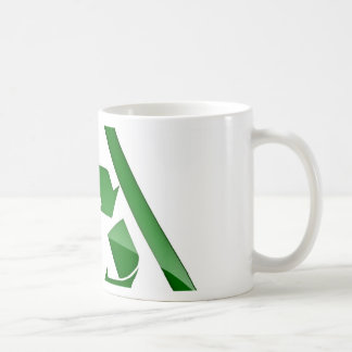 Recycle Green Eco Friendly Save Earth Classic White Coffee Mug