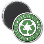 Recycle Green Magnets