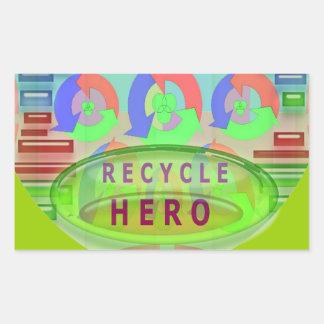 RECYCLE Hero Award - Green Theme