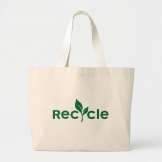 Recycle Large Tote Bag