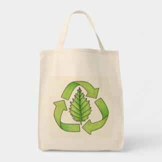 recycle logo color 600 dpi0001 tote bag