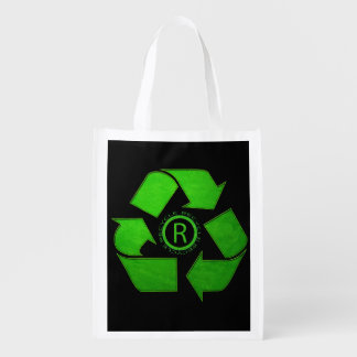 Recycle Logo Market Totes