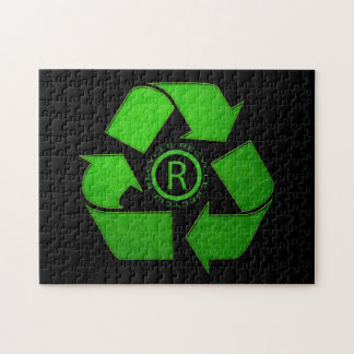 Recycle Logo Puzzle