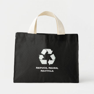 Recycle Mini Tote Bag