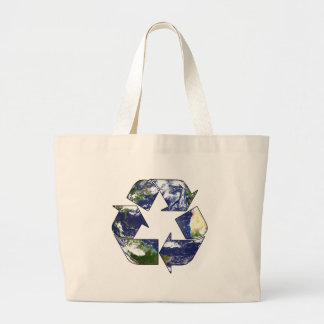Recycle Now Large Tote Bag