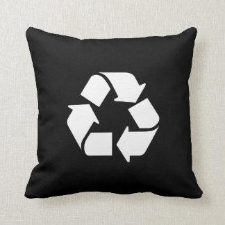 Throw Pillow Recycle : Recycle Pillows - Recycle Throw Pillows Zazzle