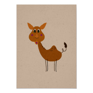 Recycle postcard with Camel