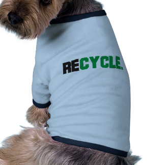 Recycle Products & Designs! Doggie Tee