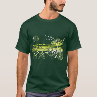 Recycle - Pure White Roots - T-Shirt