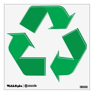 Recycle Sign Wall Decal
