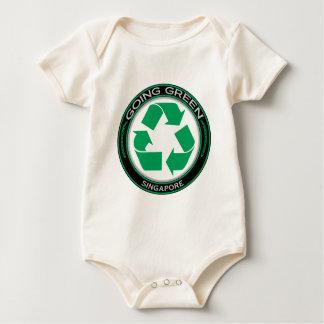 Recycle Singapore Baby Bodysuit