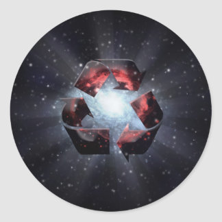 Recycle (space) sticker