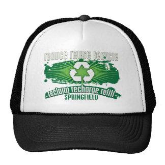 Recycle Springfield Trucker Hat