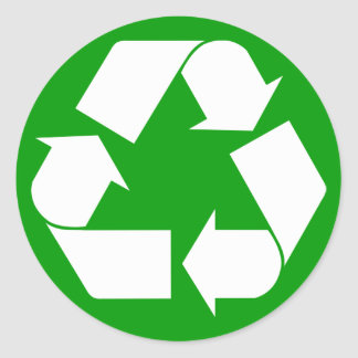 Browse the Recycle Sticker Collection and personalize by color, design, or style.