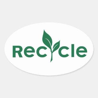 Recycle Round Sticker