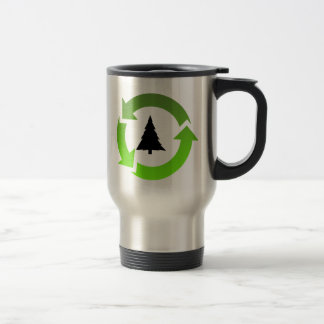 recycle stuff stainless steel travel mug