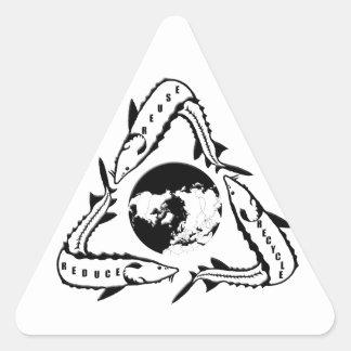 Recycle Sturgeon Stickers