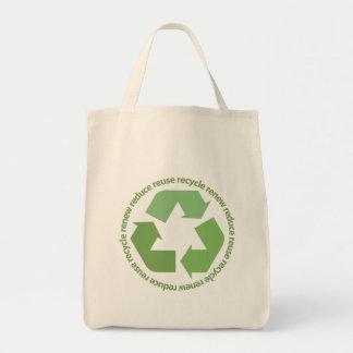Recycle Symbol Tote Bag