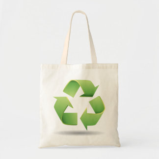 Recycle Symbol Tote Bag