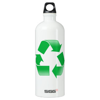 Recycle Symbol Water Bottle