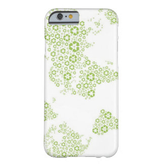 Recycle symbols used to create the planet barely there iPhone 6 case