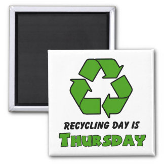 Recycle Thursday Magnet