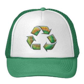 Recycle - Tie-Dye Trucker Hat