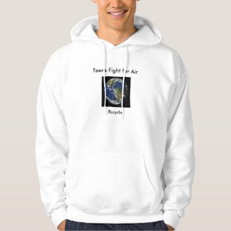Recycle to save R Earth Hoodie