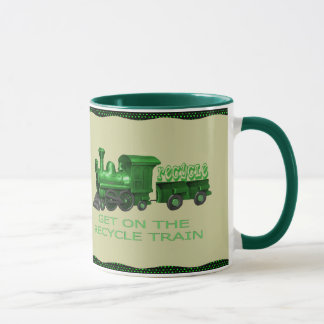 RECYCLE TRAIN-MUG MUG